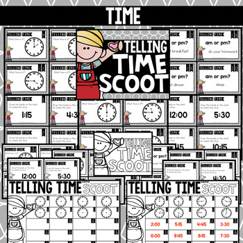 February Scooting through the year - Time, Word Problems, Homophones