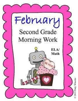 February Second Grade Morning Work