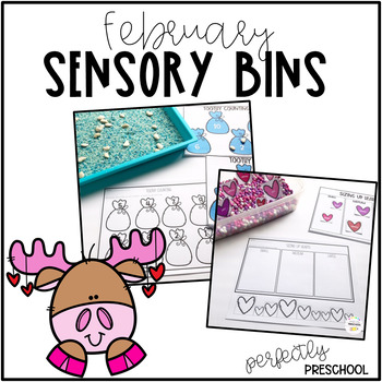 February Sensory Bins