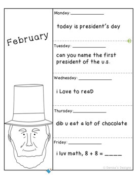 Editing Sentences - February