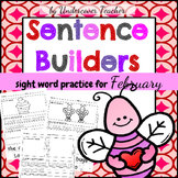 February Sentence Builders {Valentine's, President's & Gro