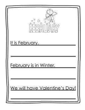 February Shadow Writing