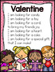 February Shared Reading (Sight Word Poems)