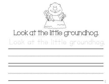 February Sight Word Journal-Print and Go!