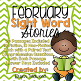 February Sight Word Stories