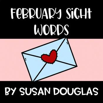 February Sight Words (100)