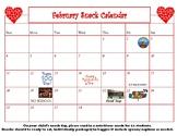 February editable Snack Calendar-updated for 2020!