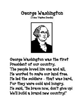 February Song: George Washington