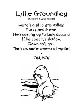 February Song: Little Groundhog