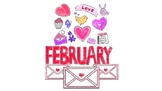 February Songs and Stories for Students with Special Needs