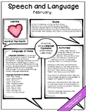 February Speech & Language Newsletter