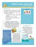February Speech & Language Preschool Newsletter