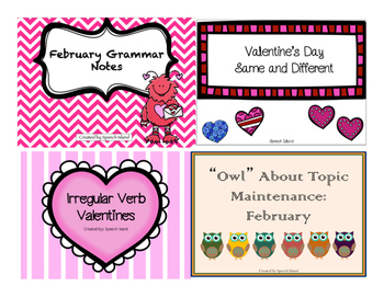#FebSLPmusthave February Speech and Language Pack