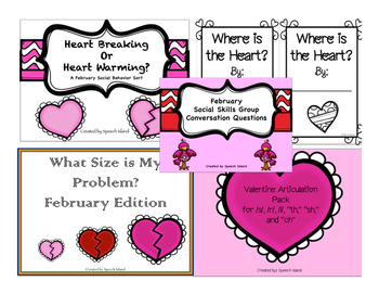 February Speech and Language Pack