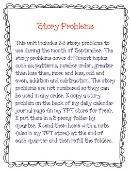 February Story Problems