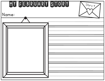 February Picture Pop Writing Prompts