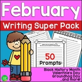 February Seasonal Writing Prompts