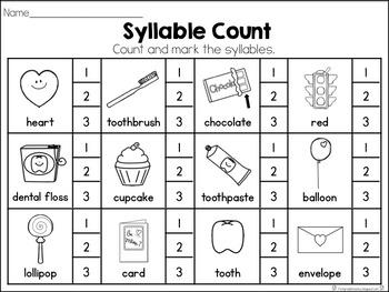 February Syllable Set