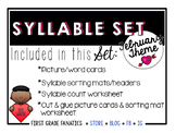 February Syllable Set
