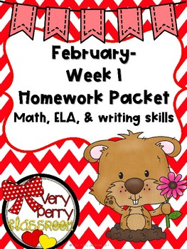 February Week 1 homework packet