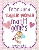 February Take Home Math Games