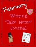 February Take Home Writing Journal