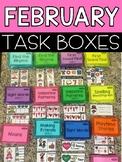 February Task Boxes