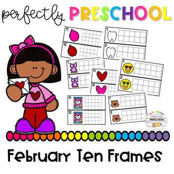 February Ten Frames