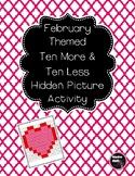 February Ten More Ten Less Hidden Picture 1.NBT.C.5
