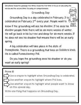 February Text Evidence