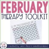 February Theme Therapy for Speech and Language
