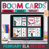 February Themed Boom Cards BundleELA