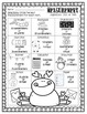 February Themed NO PREP Math Packet