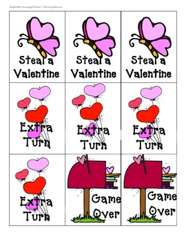 February Themed Phonics Games for Kindergarten and First Graders - All Phonics