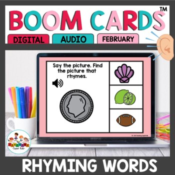 Rhyming Words Boom Cards