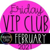 February VIP Club 2021: February Clipart ($19.00 Value)