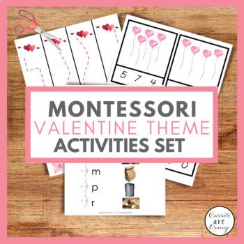 February / Valentine Activities Pack