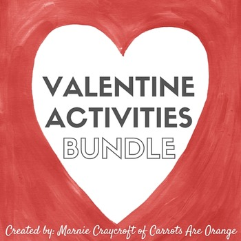 February / Valentine Activities Pack