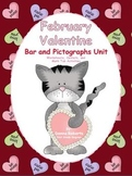 February Valentine Bar and Pictographs Unit Worksheets and Centers