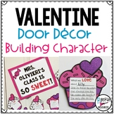 February Door Decor or Valentine Bulletin Board to Build C