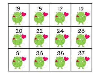 February/Valentine First Grade Math Centers Bundle