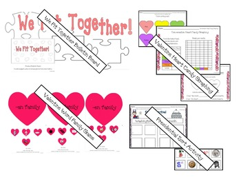 February Valentine & President's Day Activity Bundle