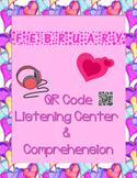 February: Valentine QR Code Listening Center w/ Comprehension