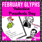 February Valentine and Presidents Day Glyph NO PREP 1st and 2nd
