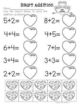February...Valentine's Day Activities...No Prep CCSS Language Arts and Math