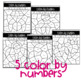February/Valentine's Day: Color by Number