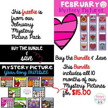 February/Valentine's Day Mystery Picture Freebie