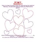 Valentine's Day Reading Progress/Tracker Chart