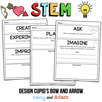 Valentine's Day STEM Activity: Cupid's Bow and Arrow