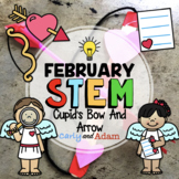 Cupid's Bow and Arrow February Valentine's Day STEM Activity